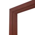 Коробка дверная ОЛОВИ Итальянский орех 800 мм с фурнитурой