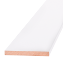 Добор ОЛОВИ Белый ламинированный 100x10x2100 мм