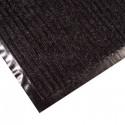Дорожка грязезащитная Двухполосная, черная, 0,9 м.