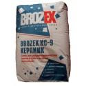 БРОЗЕКС КС 9 Клей для плитки (25кг)