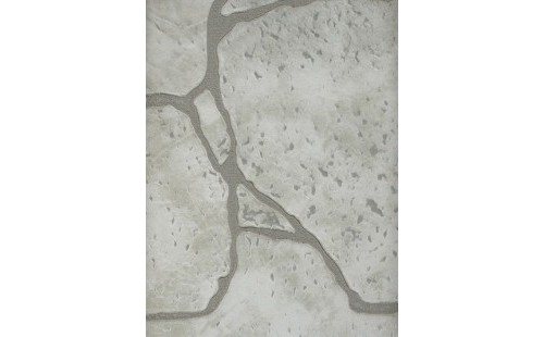 АКВАТОН листовая панель МДФ Камень белый 1220х2440х6 мм (3м2)