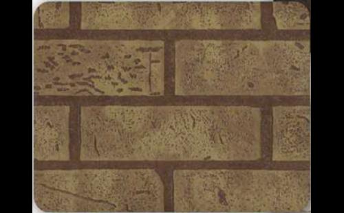 АКВАТОН листовая панель МДФ Кирпич цвет Желто-бежевый 1220х2440х6 мм (3м2)