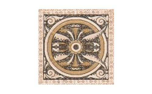 Керамин  Декор напольный Палермо 9.8х9.8 см