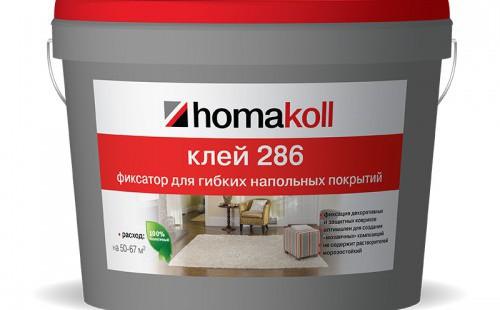 Homakoll Клей для линолеума и ковровых покрытий 286 3кг