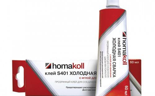 Homakoll Клей для холодной сварки стыков линолеума S401 60 мл