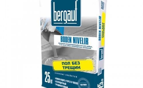 БЕРГАУФ Боден Нивелир (Bergauf Boden Nivelir) Самонивелирующийся пол для низкомарочных оснований (25кг)