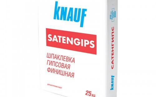 КНАУФ Шпаклевка гипсовая Сатенгипс (25кг)