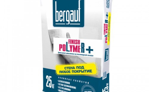 БЕРГАУФ Финиш Полимер шпаклевка для сухих помещений, белая (25кг)