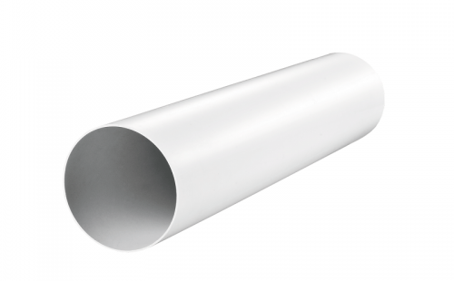Канал (воздуховод) круглый 2010 d=125 мм (1 м), пластик