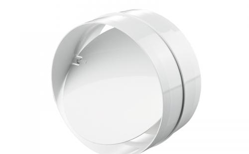 Соединитель для круглых каналов 3131 d=150 мм с обр. клапаном
