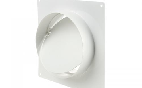 Соединитель для круглых каналов 3531 d=150 мм с о/кл. и пласт.