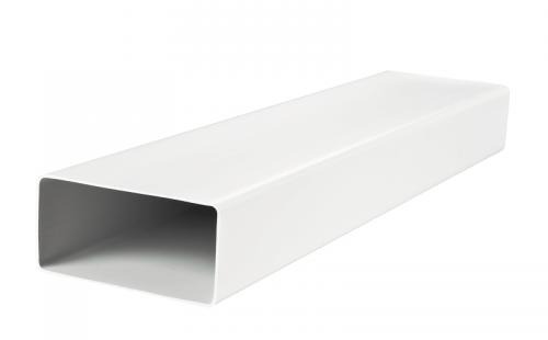 Канал (воздуховод) плоский 8020 204x60 мм (2 м), пластик