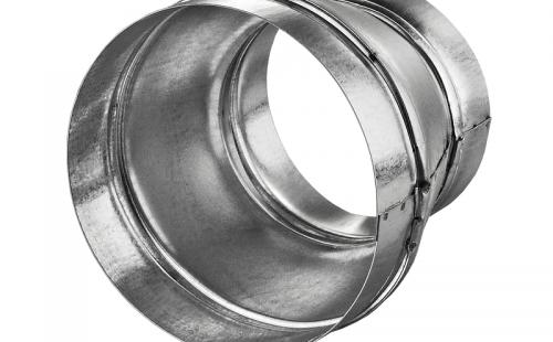 Переходник PM Zn 100x125 мм металлический оцинкованный
