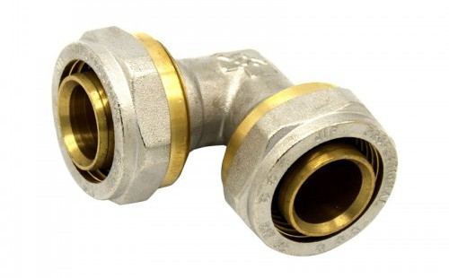 Угольник 26 для м/п труб