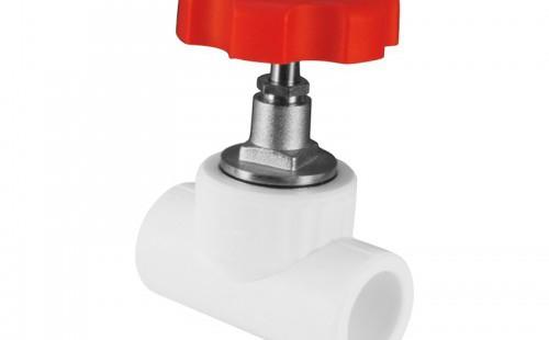 Вентиль полипропилен Valfex 25 мм, 90° ВВ