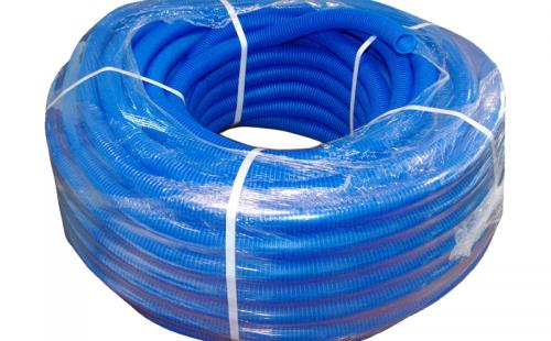 Труба гофрированная 32 мм для металлопластиковых труб синяя (1 п.м.)