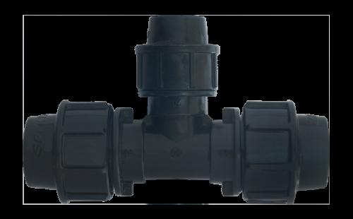 Тройник SPEKTR переходн. PN16 d=25x20x25 мм