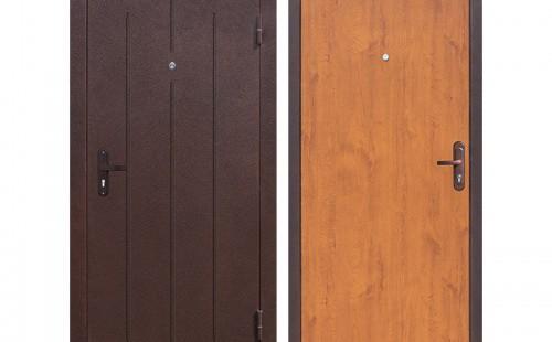 Дверь входная, эконом 960x2050 левая