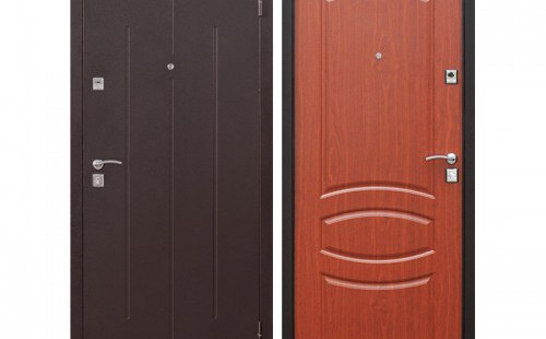 Дверь входная, стандарт, 960x2050 левая