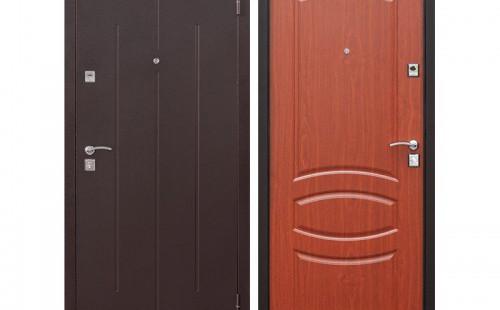 Дверь входная, стандарт, 960x2050 правая