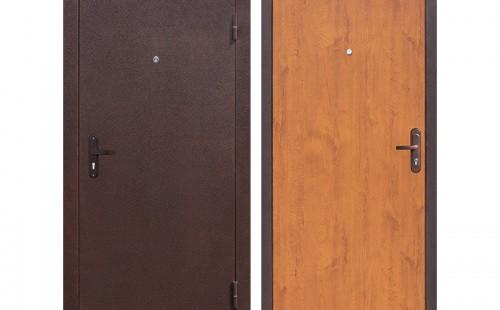 Дверь входная, эконом 860x2050 левая