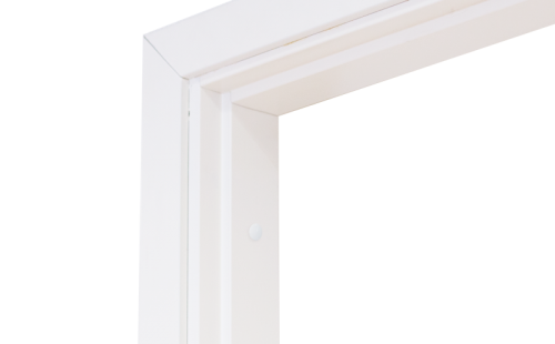 Коробка дверная ОЛОВИ комплект Белая ламинированная М7 670x74x30 мм