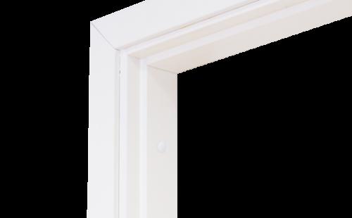 Коробка дверная ОЛОВИ комплект Белая ламинированная М10 970x74x30 мм