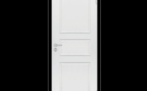 Полотно дверное Каспиан филенчатое глухое Белое крашенное М8х21