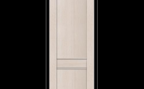 ОЛОВИ Дверное полотно Невада 600х2000 Дуб Белый экошпон глухое без притвора б/фурнитуры