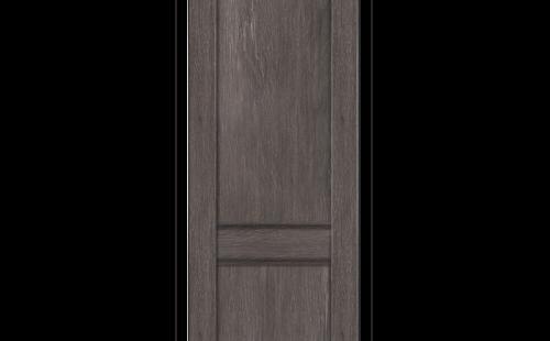 ОЛОВИ Дверное полотно Невада 800х2000 Дуб Графит экошпон глухое без притвора б/фурнитуры
