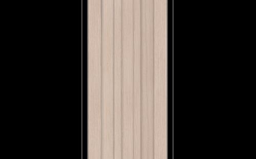 ОЛОВИ Дверное полотно Колорадо 600х2000 Беленый дуб экошпон глухое без притвора б/фурнитуры