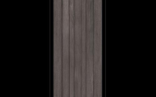ОЛОВИ Дверное полотно Колорадо 600х2000 Дуб Графит экошпон глухое без притвора б/фурнитуры