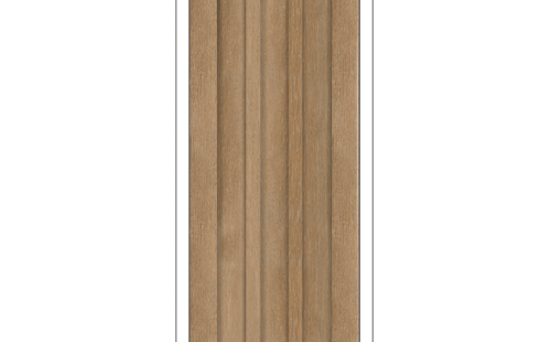 ОЛОВИ Дверное полотно Колорадо 900х2000 Дуб Шале экошпон глухое без притвора б/фурнитуры