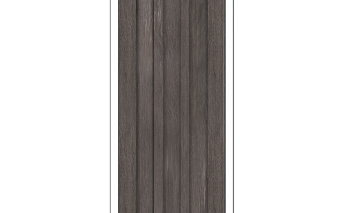 ОЛОВИ Дверное полотно Колорадо 800х2000 Дуб Графит экошпон глухое без притвора б/фурнитуры