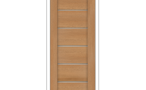 Дверное полотно Олови Канзас 600х2000 Дуб золотистый экошпон