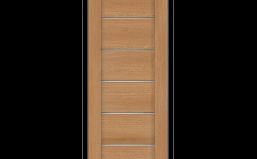 Дверное полотно Олови Канзас 700х2000 Дуб золотистый экошпон