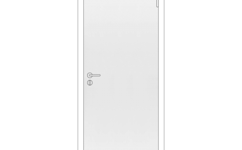 Полотно дверное глухое ОЛОВИ М9x21 Белое крашенное