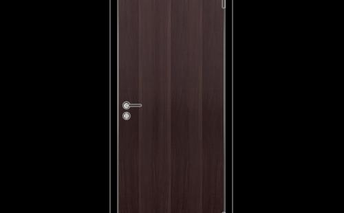 Дверное полотно глухое ОЛОВИ 3D Венге с притвором М8x21