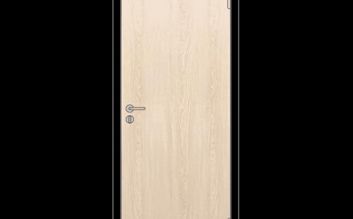 Дверное полотно глухое ОЛОВИ 3D Белёный Дуб с притвором М8x21