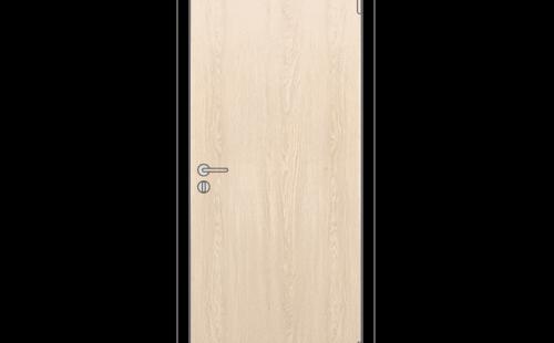 Полотно дверное глухое ОЛОВИ Беленый дуб 600x2000 мм с/ф