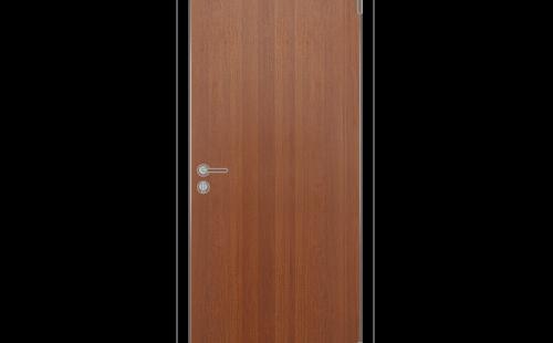 Полотно дверное глухое ОЛОВИ 3D Орех с притвором М10x21