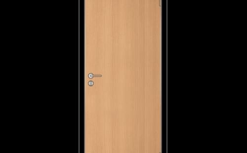 Полотно дверное глухое ОЛОВИ 3D Бук с притвором М8x21