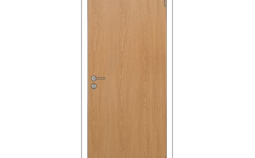 Полотно дверное глухое ОЛОВИ 3D Дуб с притвором М10x21