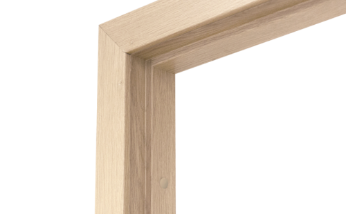 Коробка дверная ОЛОВИ Беленый дуб 800 мм с фурнитурой