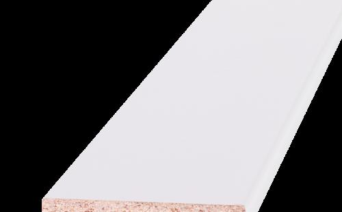 Наличник ОЛОВИ Белый крашенный 58x10x2200 мм