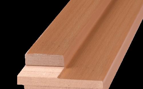 Порог дверной ОЛОВИ Миланский орех 840х28х70 мм
