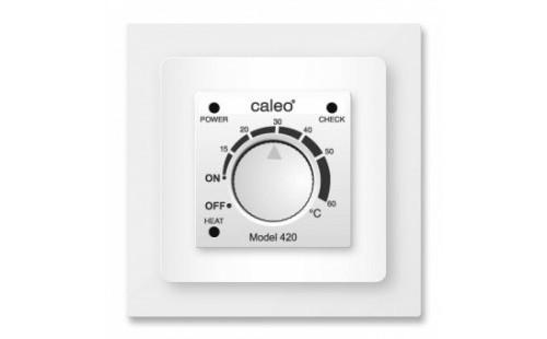CALEO 420 Терморегулятор механический, белый