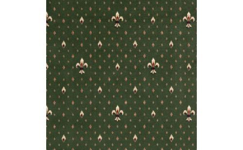 Balta Ковролин (в нарезку) Веллингтон 4957 Fleur de Lys зеленый 0040 (4м)