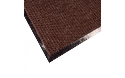 Дорожка грязезащитная Двухполосная, коричневая, 1,2 м.