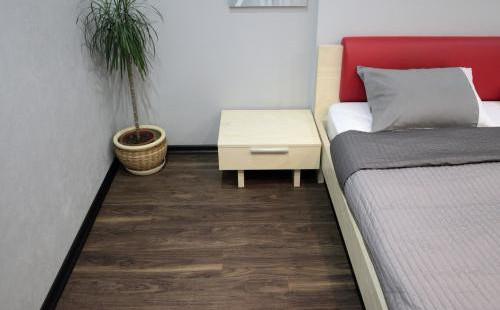Decoria кварц-виниловая ПВХ плитка Office Tile JW 051 Орех Окана